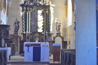 Kostel sv. Martina v Blížejově