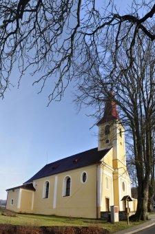 Kostel sv. Antonína Paduánského v Horní Folmavě
