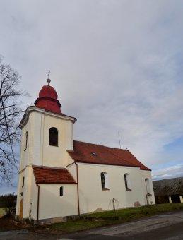 Kostel sv. Jana Křtitele ve Lštění