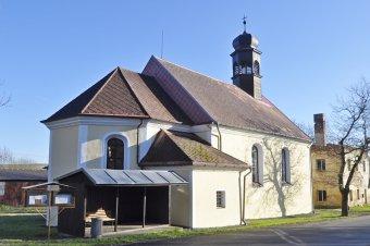 Kostel sv. Jana Křtitele v Maxově