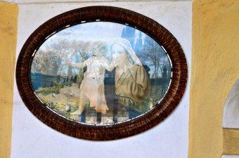 Kaplička sv. Jana Nepomuckého a socha sv. Jana Nepomuckého v Červeném Poříčí