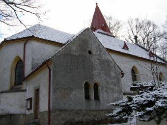 Kostel Povýšení sv. Kříže v Chlistově