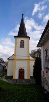 Kostel sv. Antonína Paduánského v Dlažově
