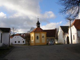 Historické jádro vsi Dobršín