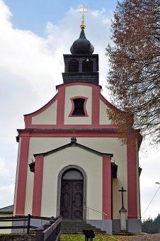 Kostel Panny Marie Bolestné v Hamrech