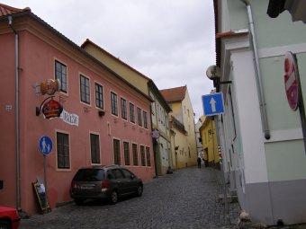 Městské domy v Horažďovicích