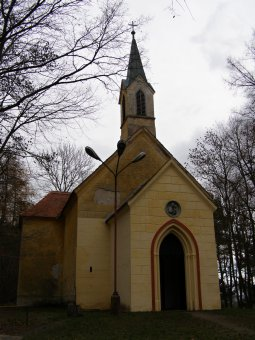 Kaple sv. Antonína v Hradešicích