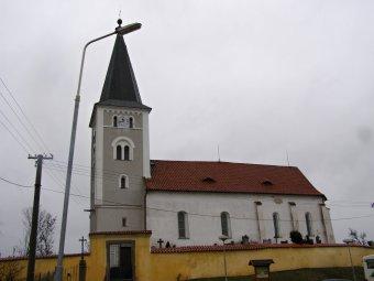 Kostel Proměnění Páně v Hradešicích