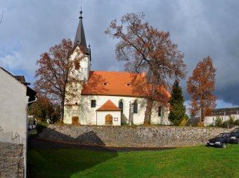 Kostel sv. Jana Křtitele v Janovicích nad Úhlavou