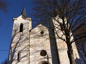 Kostel Panny Marie Sněžné v Kašperských Horách