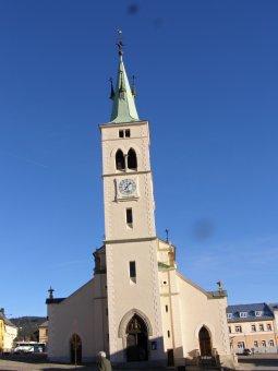 Kostel sv. Markéty v Kašperských Horách