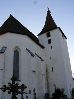 Kostel sv. Mikuláše v Kašperských Horách
