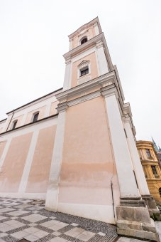 Dominikánský klášter s kostelem sv. Vavřince v Klatovech (čp. 174)