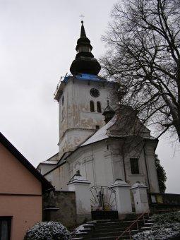 Kostel sv. Jakuba Většího v Kolinci