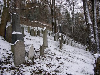 Židovský hřbitov v Kolinci