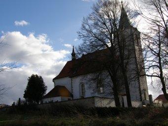 Kostel sv. Bartoloměje v Kvášňovicích