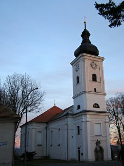 Kostel sv. Kateřiny v Nalžovských Horách