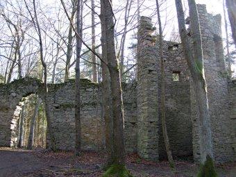 Lesní park Prašivice u Nalžovských Hor