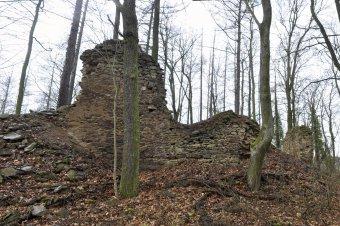 Zřícenina hradu Pušperk
