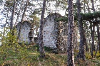 Zřícenina kaple Všech svatých (zřícenina) u Rabí