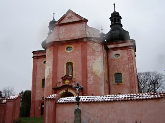 Kostel Narození Panny Marie ve Strašíně