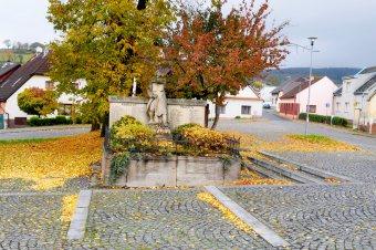 Pomník padlým v 1. a 2. světové válce ve Strážově