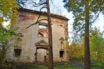 Zřícenina kaple sv. Jana Nepomuckého u Týnce