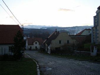 Historické jádro městečka Velhartice