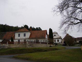 Historické jádro vsi Velké Hydčice