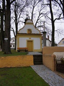 Kaple sv. Jana Nepomuckého ve Velkých Hydčicích