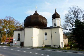 Kostel Panny Marie Pomocné v Železné Rudě
