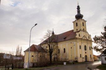 Kostel sv. Jana Evangelisty v Blovicích