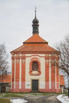 Kaple Panny Marie Pomocné v Chlumčanech