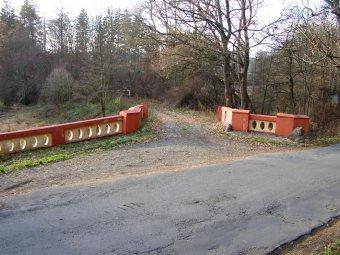 Červený most pod Zelenou horou