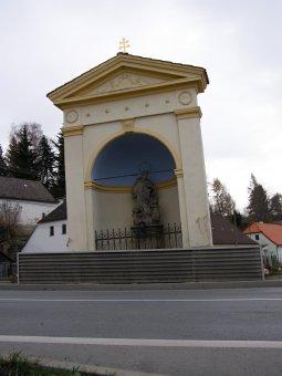 Kaple sv. Jana Nepomuckého v Nepomuku