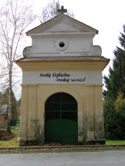 Kaple sv. Vojtěcha v Nepomuku