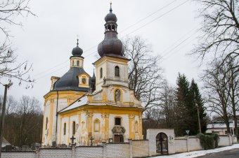 Kostel sv. Jana Nepomuckého v Nových Mitrovicích