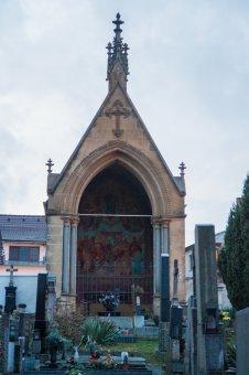 Hrobka Josefa Hlávky v Přešticích