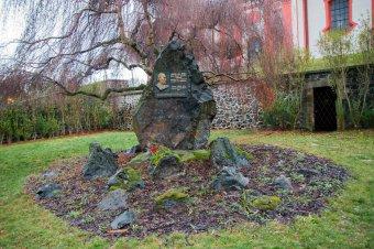Pomník Jakuba Jana Ryby v Přešticích