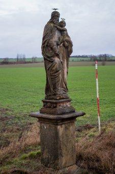 Sochy sv. Jana Nepomuckého, sv. Kiliána a sv. Josefa v Přešticích