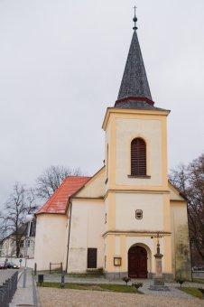 Kostel sv. Mikuláše ve Spáleném Poříčí