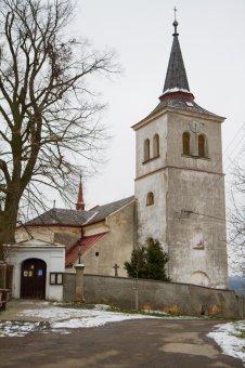Kostel Nanebevzetí Panny Marie v Těnovicích