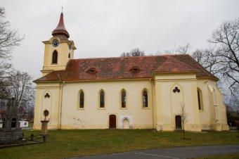 Kostel sv. Markéty ve Vsi Touškově