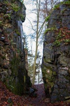 Zřícenina hradu Skála