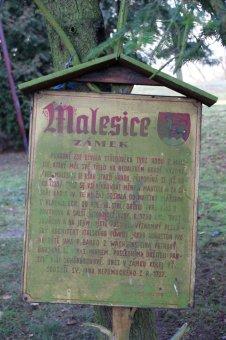 Zámek Malesice (čp. 1)