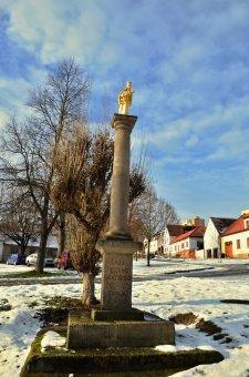 Historické jádro vsi Bolevec