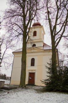 Kostel Povýšení sv. Kříže v Dolní Bělé