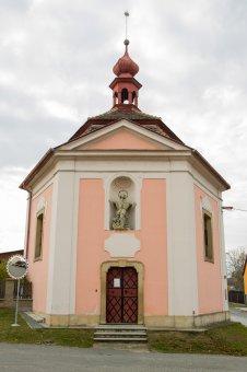 Kaple sv. Jana Nepomuckého v Druztové