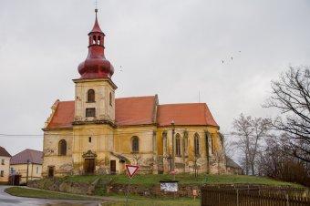 Kostel sv. Martina v Horních Sekyřanech