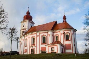 Kostel sv. Petra a Pavla v Líšťanech